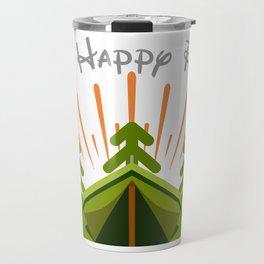 My Happy Place Travel Mug