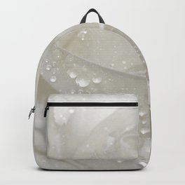 Rose white 0115 Backpack