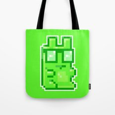 Giant Pixel Gummy Bear Tote Bag