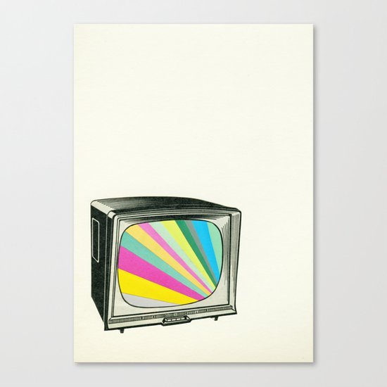 Your Programme Will Resume Shortly Canvas Print