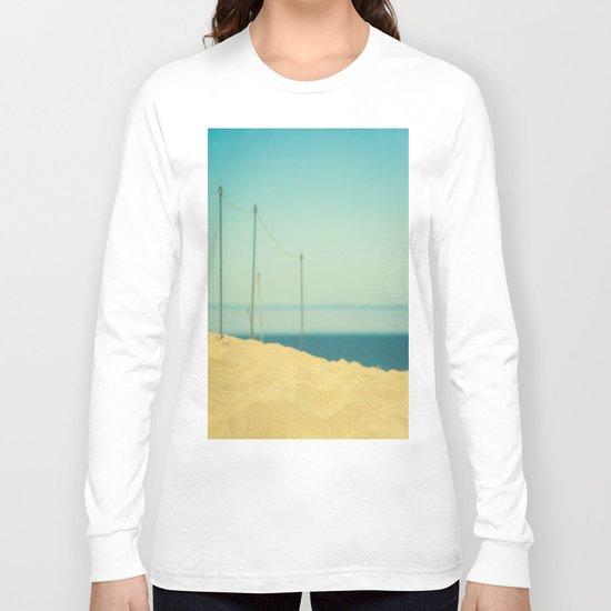 Beach Fence Long Sleeve T-shirt