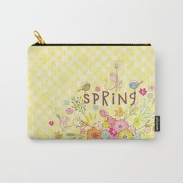 Sweet Spring Carry-All Pouch