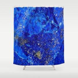 Lapis Dreams Shower Curtain