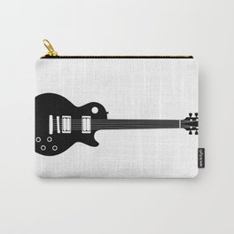 Black on White Guitar Carry-All Pouch