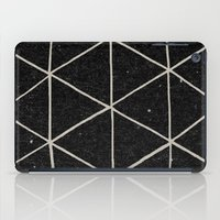 circle iPad Cases featuring Geodesic by Terry Fan