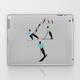 ALPINE TOURING SKI Laptop & iPad Skin