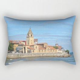 Gijon, Asturias, Spain Rectangular Pillow