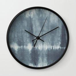 Tye Dye Gray Wall Clock