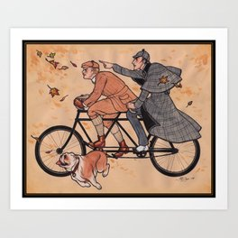 The Game is Afoot! Art Print