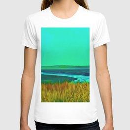 River Alt (Digital Art) T-shirt