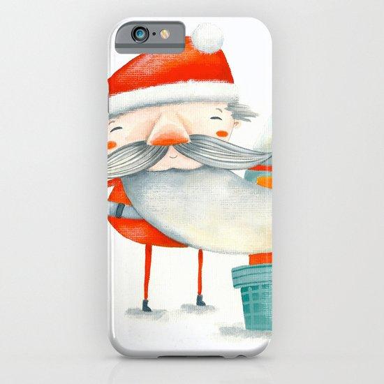Santa and friend iPhone & iPod Case