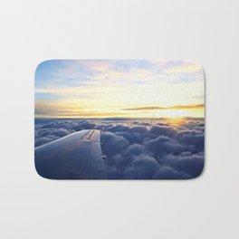 Sunrise Above the Clouds Bath Mat