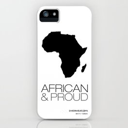 African & Proud iPhone Case