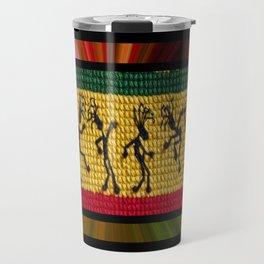lively up reggae dancers Travel Mug