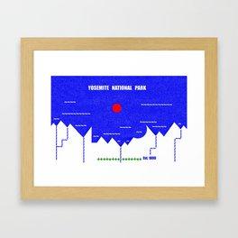 Yosemite National Park Framed Art Print
