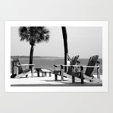 Sit Back and Relax Art Print