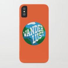 Wanderlust iPhone X Slim Case