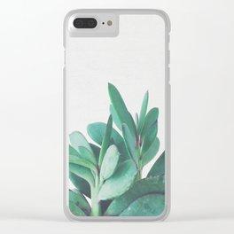 Crassula Clear iPhone Case