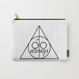 H A R R Y  P O T T E R - Four Houses B&W Carry-All Pouch