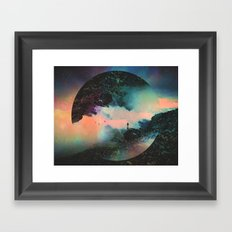 Final Frontier Framed Art Print