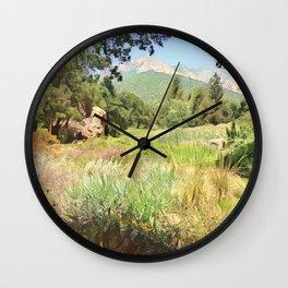 Santa Barbara Summer Wall Clock