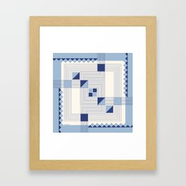 """Intersections"" Art Deco Collection Framed Art Print"