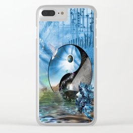 We are Symbols of Light Clear iPhone Case