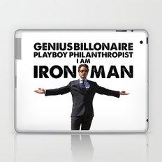 Iron Man - Genius, Billionaire, Playboy, Philanthropist. Laptop & iPad Skin