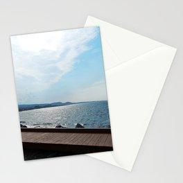 Coastal Shoreline and Boardwalk Stationery Cards