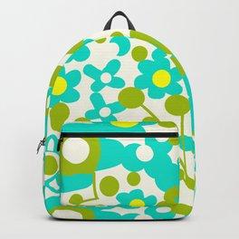 Green Flora Backpack