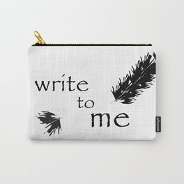Write to me Carry-All Pouch