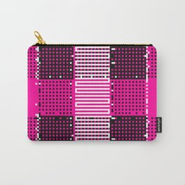 Licorice Bytes, No.14 in Black and Pink Carry-All Pouch