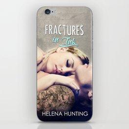 Fractures in Ink iPhone Skin