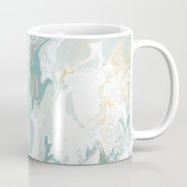 Marble - Grey, Blue, & White Coffee Mug