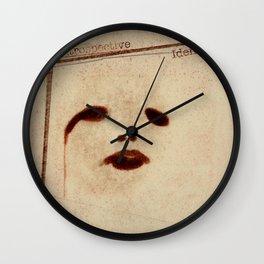 Introspective Identity Wall Clock