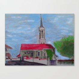 Kirche Schmatzhausen Niederbayern Canvas Print