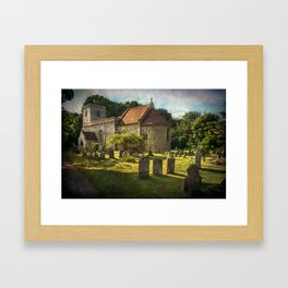 St Peter and St Paul Checkendon Framed Art Print