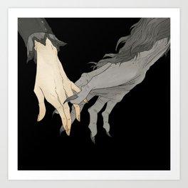 Monster Lover II Art Print
