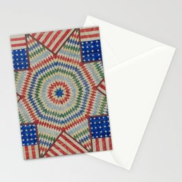 Americana Quilt Stationery Cards