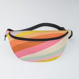 Happy Color Sunlights Fanny Pack