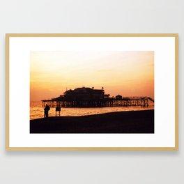 West Pier, Brighton, UK Framed Art Print