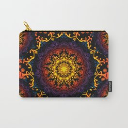 'Bohemian Summer' Multi-Coloured Mandala Carry-All Pouch
