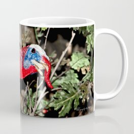 Wild Turkey Close Up Coffee Mug