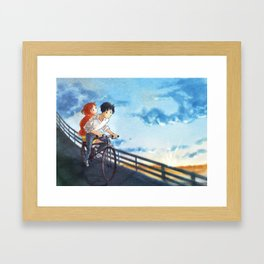 whisper of the heart - fan art Framed Art Print