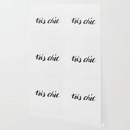 Tres Chic Wallpaper