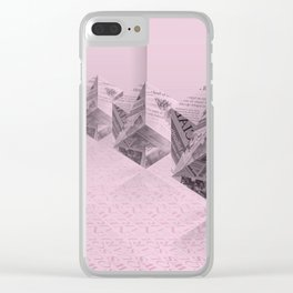 News Cubes IV Clear iPhone Case
