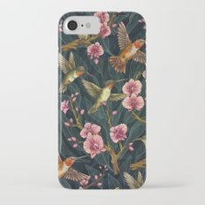 Hummingbird Pattern iPhone 7 Slim Case