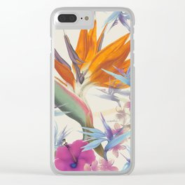 Fields of Paradise Clear iPhone Case