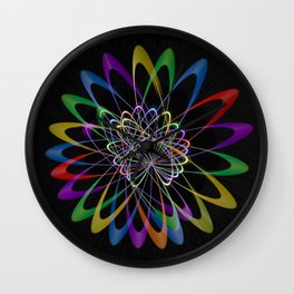 Abstract perfection 201 Wall Clock