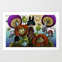 Wonderland Inc Art Print